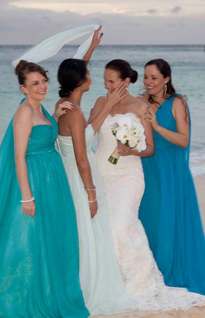 Marta and Anthony's wedding at Boracay 29 December 2014