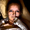 Natalia, portrait in the dark,2009