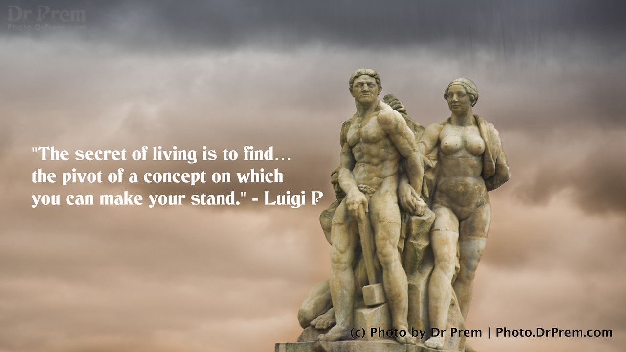 Make Your Stand - PhotoQuote - Dr Prem