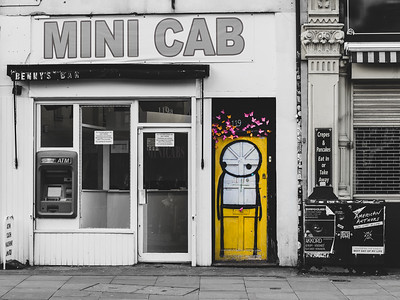 Shoreditch District, Street Art Walk, London, England