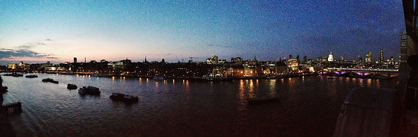 View from OXO Tower, London, England