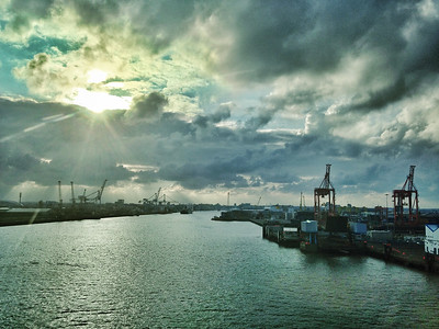 Dublin Port, Ireland