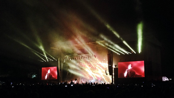 The Killers, Outside Lands, Golden Gate Park