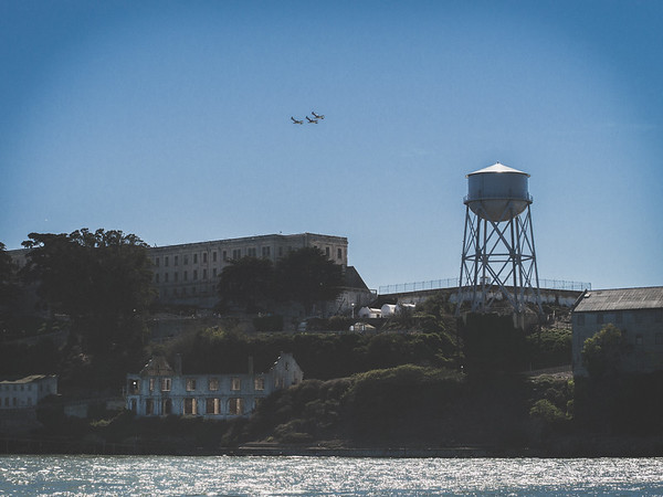 Fleet Week 2014, Alcatraz, San Francisco Bay Area
