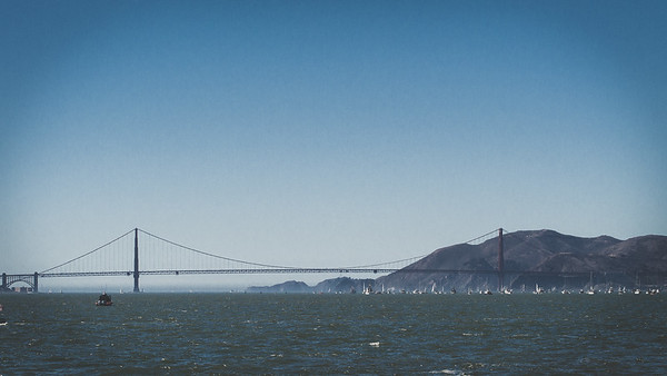 Golden Gate Bridge, Fleet Week 2014, San Francisco Bay Area