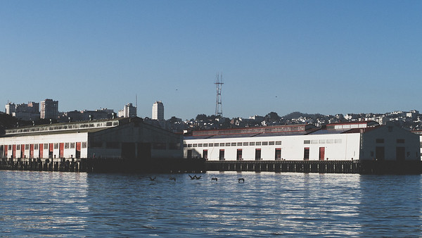 Fort Mason, Sutro Tower, San Francisco Bay Area