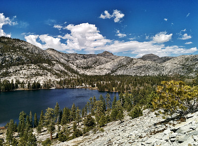 Lake Vernon, Hetch Hetchy Reservoir, Yosemite