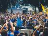 Adonal Foyle, Golden State Warriors Parade, Oakland, CA