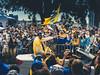 Nate Thrumond, Golden State Warriors Parade, Oakland, CA