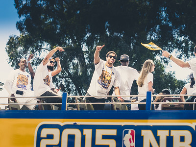 James Michael McAdoo, Golden State Warriors Parade, Oakland, CA