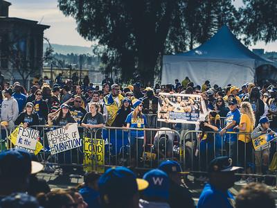 Golden State Warriors Parade, Oakland, CA