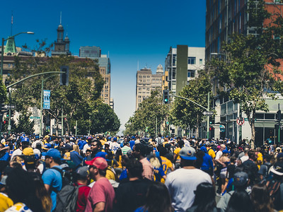 Golden State Warriors Parade, Oakland, CA