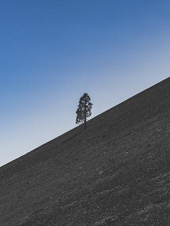 Cinder Cone Crater, Lassen Volcanic National Park, CA