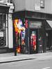 Shoreditch District, Street Art Walk, London, England