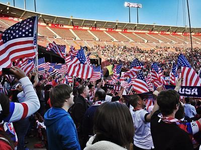 USA Soccer vs Azerbaijan, Candlestick