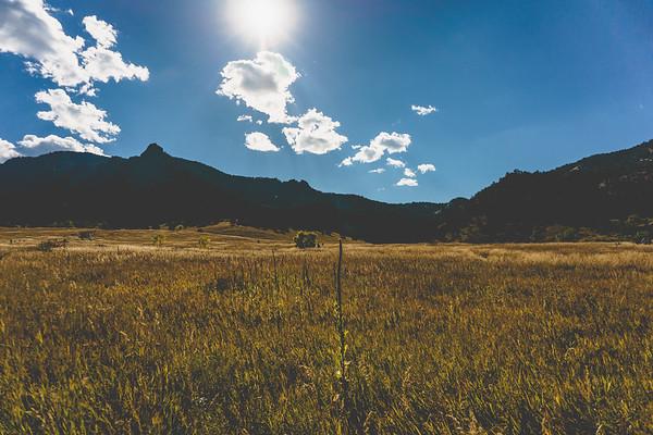 Flatirons, Chautauqua Trail, Boulder, Colorado