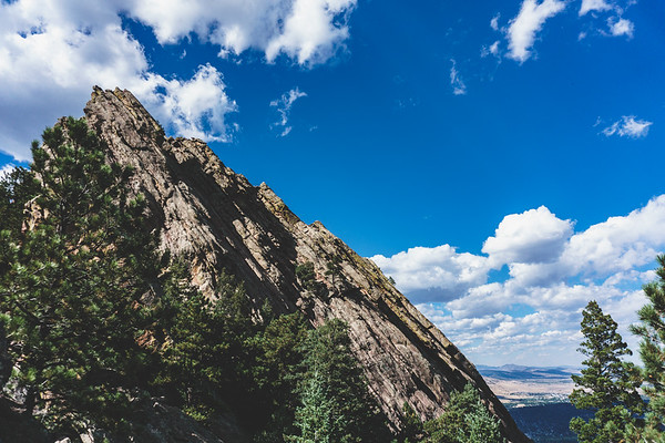 1st / 2nd Flatirons Trail, Boulder, Colorado