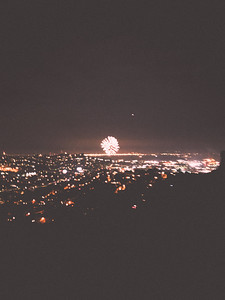 Bernal Heights Park, New Years 2018, San Francisco, Bay Area, CA