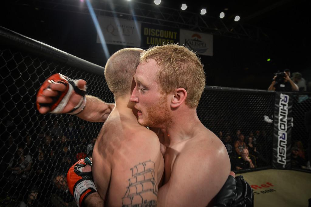 Calvin Green's MMA Fight