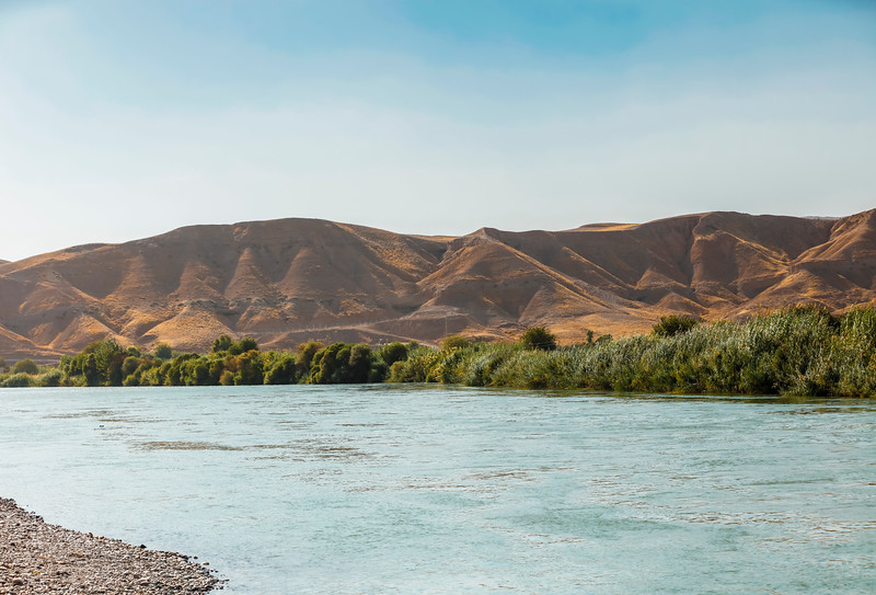Main branch of Dijla river in Kurdistan region in Iraq