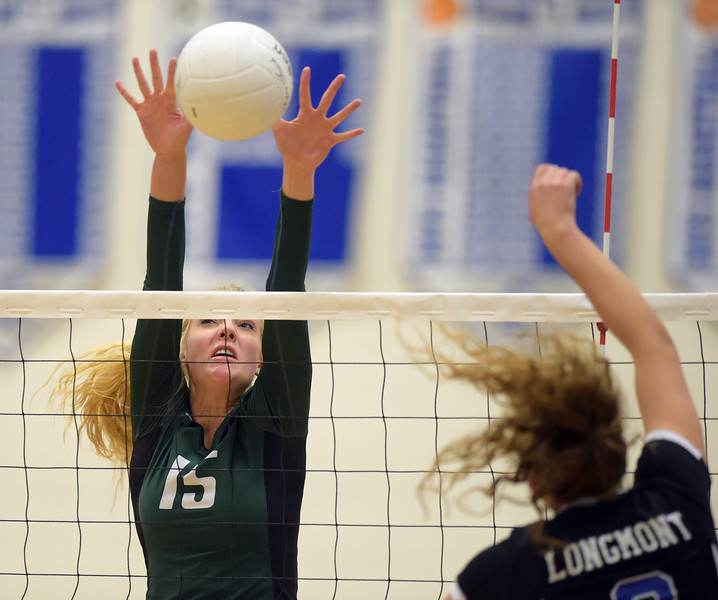 NIWOT AT LONGMONT VOLLEYBALL