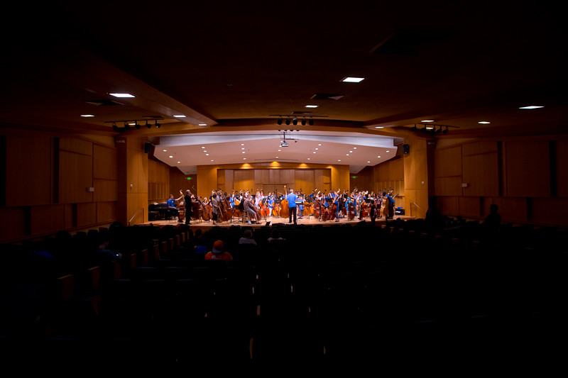 "The Monster Bass Ensemble, which includes over 70 double bass players, from 4th grade to professionals, rehearse for the 14th Rocky Mountain Bass Festival at CU's Imig Music Building on Sunday. <br /> More photos:  <a href=""http://www.dailycamera.com"">http://www.dailycamera.com</a><br /> (Autumn Parry/Staff Photographer)<br /> October 2, 2016"