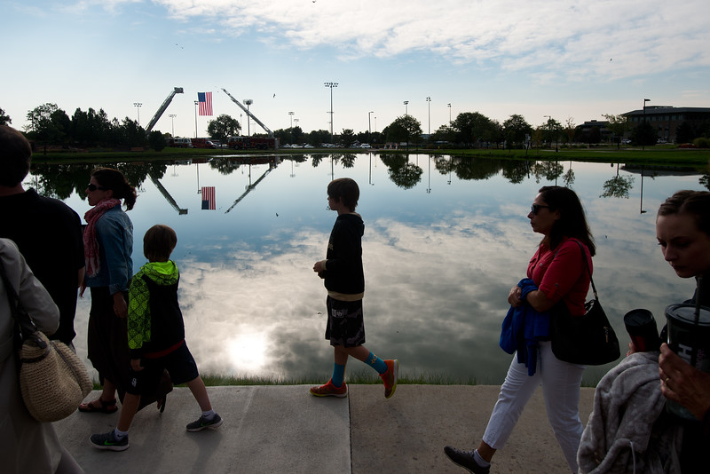 "Attendees make their way to the 9/11 Memorial  in Broomfield on Sunday to pay their respects for the lives lost in the terrorist attacks fifteen years ago.<br /> More photos:  <a href=""http://www.dailycamera.com"">http://www.dailycamera.com</a><br /> (Autumn Parry/Staff Photographer)<br /> September 11, 2016"