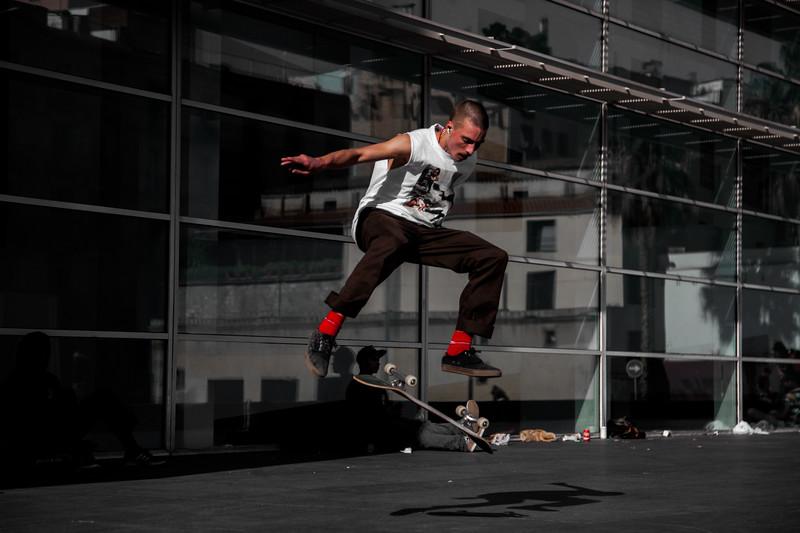 Barcelona Skater