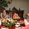 Christmas dinner at Grandma's - bacon mashed potatoes are icky, but cranberry relish is yummy