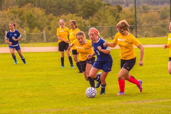 Soccer Girls JV 2015