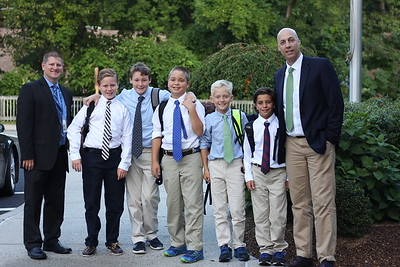 Westchester Middle School: First Day