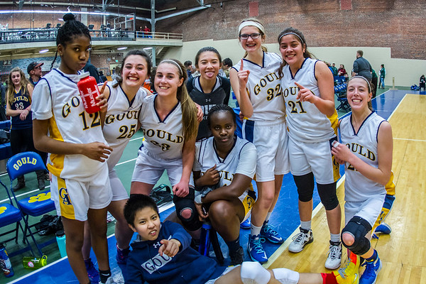 Basketball Varsity Girls vs Winthrop 02-14-2017