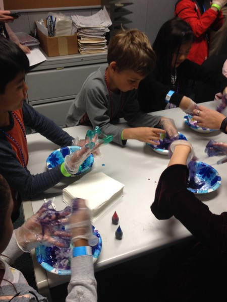 SSL's take your child to work day - slime