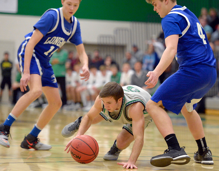 LONGMONT AT NIWOT BOYS BASKETBALL