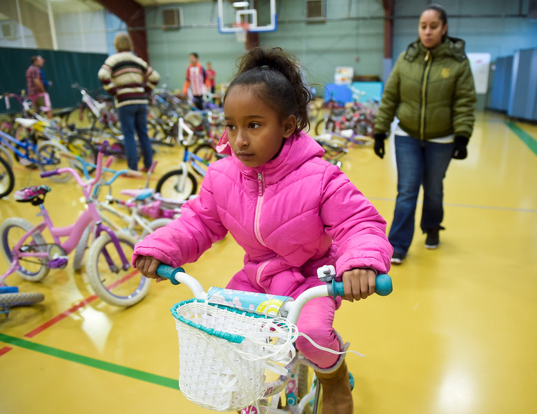 ANNUAL BIKE GIVEAWAY