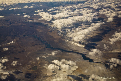 """Shapes Over New Mexico"""