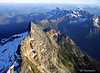 """The Edge"" Sloan Peak, Cascade Mountains NE of Seattle, Taken at about 9500' elevation #53070514  © Payam Nashery - Photoarts"