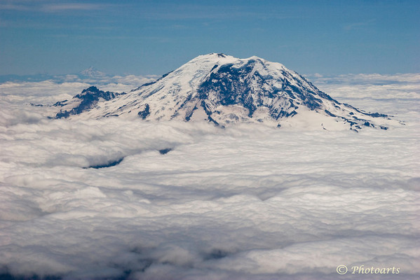 """Majestic Mt. Rainier"""