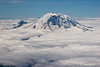"""Majestic Mt. Rainier"" Mount Adams in Background, Taken From About 14,000' #53070750  © Payam Nashery - Photoarts"
