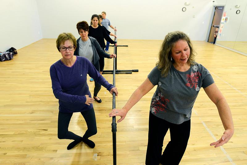 Ageless ballet class
