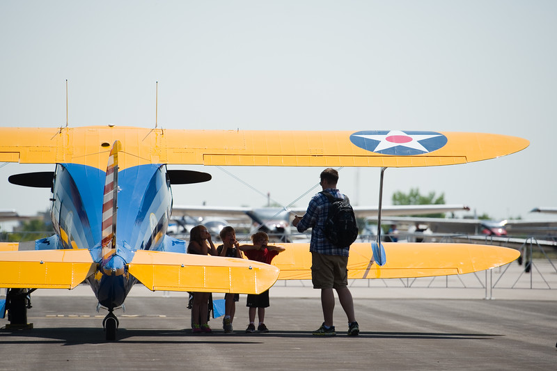 "Visitors attend Airport Day at the Boulder Municipal Airport on Saturday. <br /> More photos:  <a href=""http://www.dailycamera.com"">http://www.dailycamera.com</a><br /> (Autumn Parry/Staff Photographer)<br /> June 18, 2016"