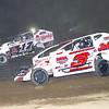 "Mod action Marc Johnson #3J & Elmo Reckner #17 at Albany-Saratoga Speedway, Friday, July 6. Photos courtesy Kustom Keepsakes - Mark Brown and Ryan Karabin. For reprints and more visit <a href=""https://nepart.smugmug.com"">https://nepart.smugmug.com</a>"