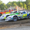 "Pro stock action Jason Meltz #51, Jay Corbin #8 &Darrell Older #98 at Albany-Saratoga Speedway, Friday, July 6. Photos courtesy Kustom Keepsakes - Mark Brown and Ryan Karabin. For reprints and more visit <a href=""https://nepart.smugmug.com"">https://nepart.smugmug.com</a>"