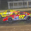 "Pro stock action Dan Older #97 & Kenny Martin #93 at Albany-Saratoga Speedway, Friday, July 6. Photos courtesy Kustom Keepsakes - Mark Brown and Ryan Karabin. For reprints and more visit <a href=""https://nepart.smugmug.com"">https://nepart.smugmug.com</a>"