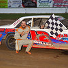 "Street stock winner Randy Miller #12 at Albany-Saratoga Speedway, Friday, July 6. Photos courtesy Kustom Keepsakes - Mark Brown and Ryan Karabin. For reprints and more visit <a href=""https://nepart.smugmug.com"">https://nepart.smugmug.com</a>"