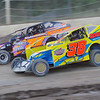 """Sportsman action Joey Scarborough #38n & Chad Edwards #37 at Albany-Saratoga Speedway, Friday, July 6. Photos courtesy Kustom Keepsakes - Mark Brown and Ryan Karabin. For reprints and more visit <a href=""""https://nepart.smugmug.com"""">https://nepart.smugmug.com</a>"""