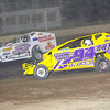 "Mod action Ray Hoard #94 & Brian Gleason #3G at Albany-Saratoga Speedway, Friday, July 6. Photos courtesy Kustom Keepsakes - Mark Brown and Ryan Karabin. For reprints and more visit <a href=""https://nepart.smugmug.com"">https://nepart.smugmug.com</a>"