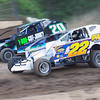 "Sportsman action Tim Hartman Jr #22 & David Schilling #20 at Albany-Saratoga Speedway, Friday, July 6. Photos courtesy Kustom Keepsakes - Mark Brown and Ryan Karabin. For reprints and more visit <a href=""https://nepart.smugmug.com"">https://nepart.smugmug.com</a>"
