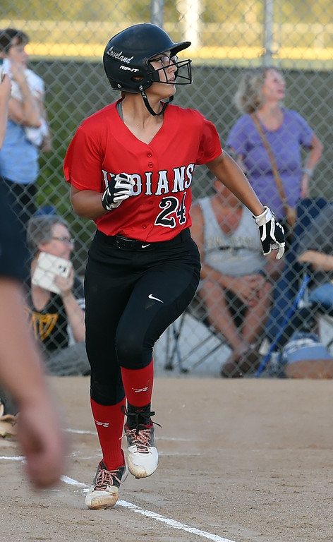 . Pitcher of the year, Loveland\'s Lauren Krings.  (Photo by Jenny Sparks/Loveland Reporter-Herald)