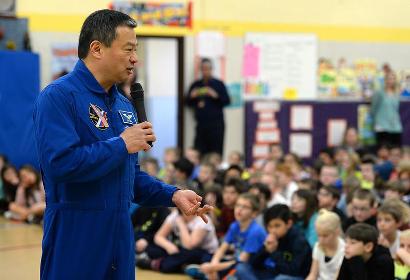 Astronaut Leroy Chiao